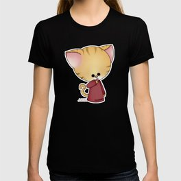 Zombie Doll Cat T-shirt