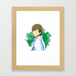 Free! Minimalist (Makoto) Framed Art Print