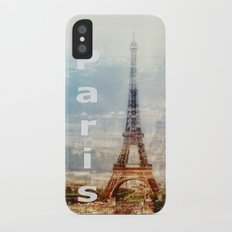 paris iPhone X Slim Case