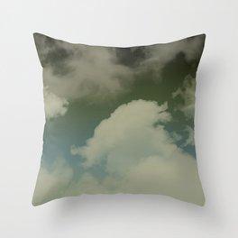 Sky Island Storms Throw Pillow