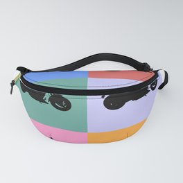 Motorcycle Vintage Fanny Pack