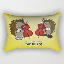two cellos Rectangular Pillow