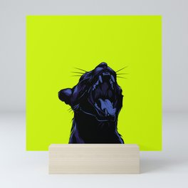The Black Panther Mini Art Print