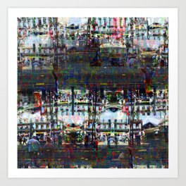 Mostly only rowable, no ignoble notions growing... Art Print