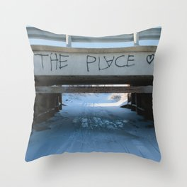 The Place Throw Pillow