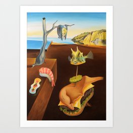 The Persistence of Nigiri Art Print