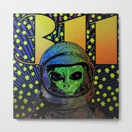 311 astronout three eleven 2021 Metal Print
