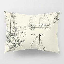 Outrigger Sailboat-1977 Pillow Sham
