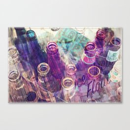 SODA POP LOVE... Canvas Print