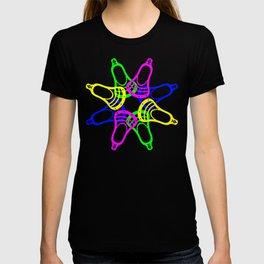 Lacrosse Neon Heads T-shirt