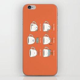 Types of tea iPhone Skin