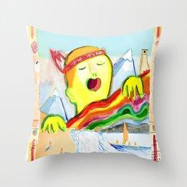 Sing! Throw Pillow