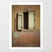 window Art Prints featuring Window by Maria Heyens