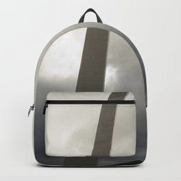 Gateway Arch with figure Backpack
