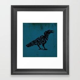 The three-eyed crow Framed Art Print