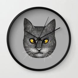 Cross Eyed Wall Clock