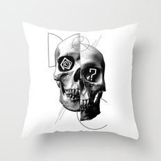 Dazed & Confused Throw Pillow