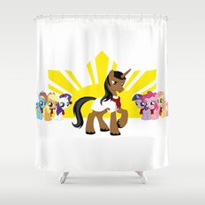 Andres Ponyfacio Shower Curtain