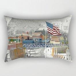 Trestle over Gregory Street Rectangular Pillow