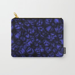 Pearl ultramarine soap bubbles patterned with precious blurred outlines. Carry-All Pouch