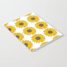 Sunflower Power Notebook