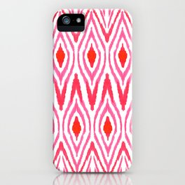 Ikat Watermelon iPhone Case