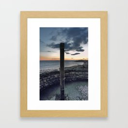 Seafront at Weston-super-Mare Framed Art Print