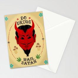 Do Drugs, Hail Satan Stationery Cards