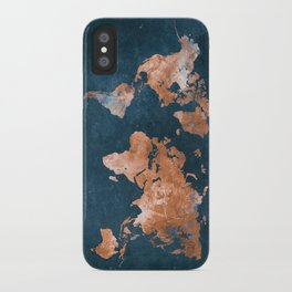 world map 15 iPhone Case
