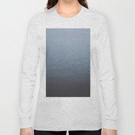 Rain drops on a gloomy day Long Sleeve T-shirt