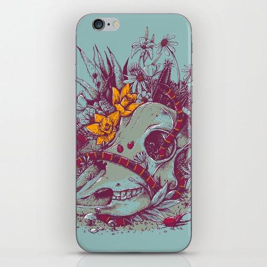 Death Blooms iPhone & iPod Skin