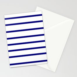 Mariniere marinière – classical pattern Stationery Cards