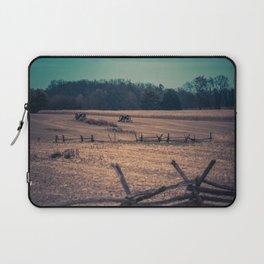 View of Antietam National Battlefield Civil War Battleground Maryland Laptop Sleeve