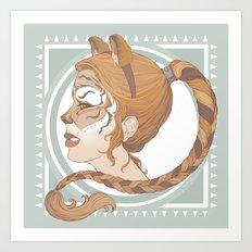a real tiger Art Print