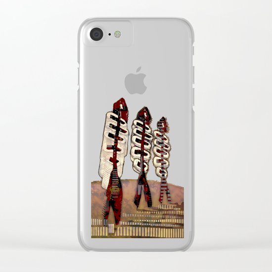 Atlante 18·5·16 / Fish Spines Clear iPhone Case