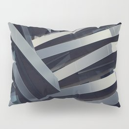 LOW ANGLE PHOTOGRAPHY OF GRAY BUILDING AT DAYTIME Pillow Sham