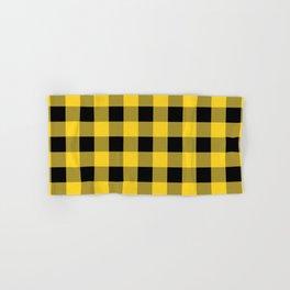 Yellow and Black Buffalo Check - more colors Hand & Bath Towel