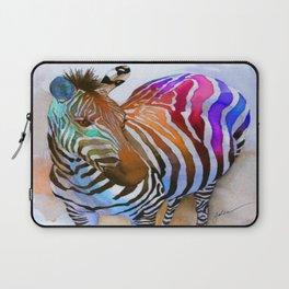 Colorful Zebra Laptop Sleeve