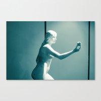 apple Canvas Prints featuring Apple by Sébastien BOUVIER