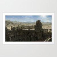 City of Thyn Art Print