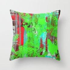 Colour Injection I Throw Pillow