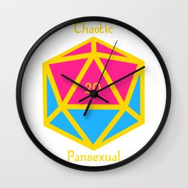 Chaotic Pansexual Wall Clock