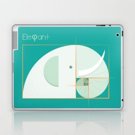 Fibonacci elephant Laptop & iPad Skin