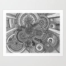The Hidden Clockwork Art Print