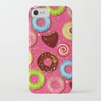 donut iPhone & iPod Cases featuring DONUT by Ylenia Pizzetti