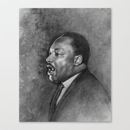 """Dr. King """"I've Been to the Mountaintop"""" (April 3 1968) Canvas Print"""