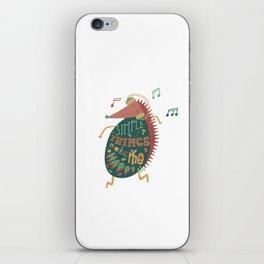 Simple Things Make Me Happy iPhone Skin