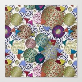 Penrose Tiling Inspiration Canvas Print