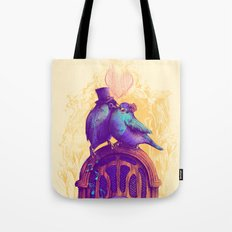 LISTEN TO THE SONG Tote Bag