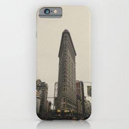 Flatiron building, New York architecture, NY building, I love NYC iPhone Case